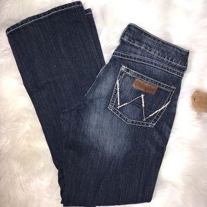 Wrangler Premium Patch Jeans 7 x 32 #09MWZLR